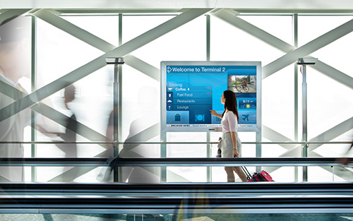 Wall Mounted Digital Sign